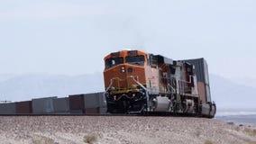 Moving Locomotive Royalty Free Stock Photos