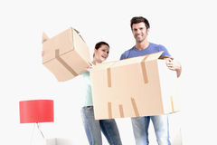 Moving into new home Royalty Free Stock Photos