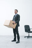 Moving into a new office Royalty Free Stock Image