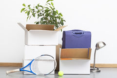 Moving out Royalty Free Stock Image