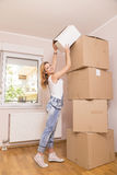 Moving out Stock Images