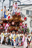 Moving palanquin. Celebration of Mother's Day in Japan Stock Photo
