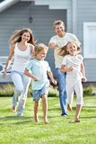 Moving people Stock Images