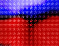 Moving Red and Blue Stars wallpaper royalty free illustration
