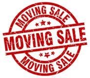 moving sale stamp royalty free illustration