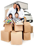 Moving services Royalty Free Stock Images