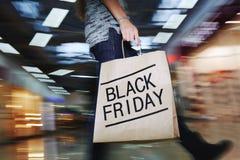 Moving shopper Stock Photo