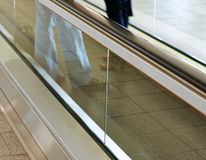 Moving Sidewalk Stock Image