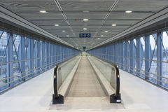 Moving sidewalk Stock Photography