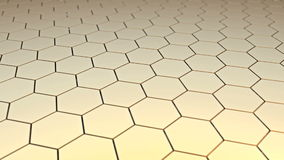 Moving stage of honeycomb surface stock video footage
