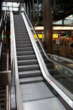 Moving staircase at airport 1 Royalty Free Stock Photography