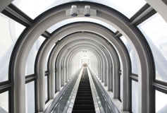 Moving staircase Royalty Free Stock Photo