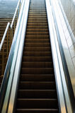 Moving Staircase Of Subway Stock Photography