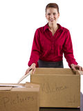 Moving Stuff Royalty Free Stock Images