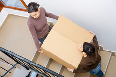 Moving to new home Stock Photography