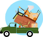 Moving to a new home vector illustration