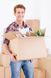 Moving to a new house. Stock Photography