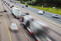 Moving Traffic royalty free stock photography