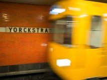 Moving train Stock Photos