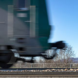 Moving train Royalty Free Stock Images