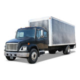 Moving Truck Black Royalty Free Stock Images