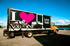 Moving Truck Royalty Free Stock Images