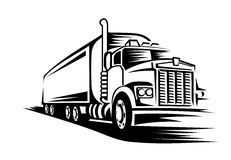 Moving truck Royalty Free Stock Photo