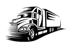 Moving truck Royalty Free Stock Photos