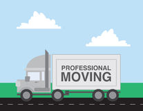 Moving Truck Stock Image