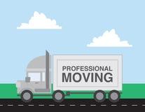 Cartoon Moving Truck Stock Illustrations, Vectors ...