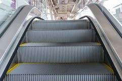 Moving Up in Escalator Stock Photos