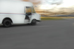 Moving Van Stock Images