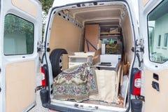 Moving Van. Royalty Free Stock Photo