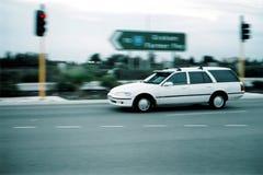 Moving Vehicle.  Stock Photo