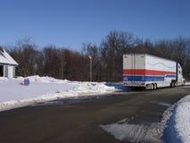 moving vinter Arkivbild