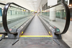 Moving walkway Stock Photo