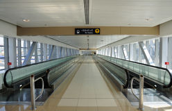 Moving Walkway Stock Image