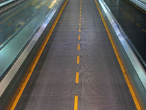 Moving walkway Royalty Free Stock Photos