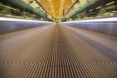 Moving walkway Stock Image