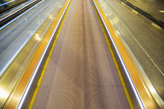 Moving walkway Stock Images