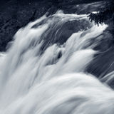 Moving water, motion blur Royalty Free Stock Images