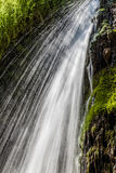 Moving waterfall Royalty Free Stock Image