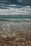 Moving Waters. A photo of the Caribbean waters Royalty Free Stock Image