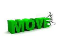 Moving XXL stock illustration