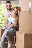 Moving in Royalty Free Stock Image