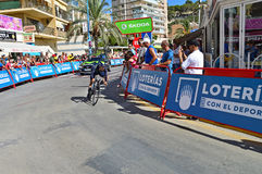 Movistar Cycle Race Team Stock Photos