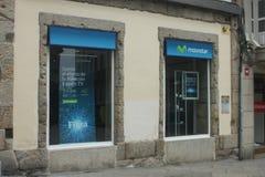 Movistar shop Stock Photography