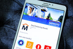 Movoto real estate app Stock Photography