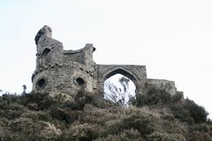 Mow Cop Castle or Folly, Stoke-on-Trent Royalty Free Stock Photo