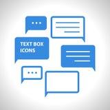 Mowa bąbla interneta mieszkania ikona Obraz Royalty Free